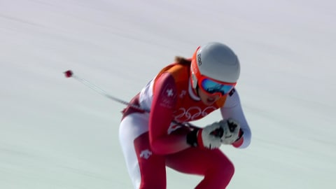 Women's Combined, Downhill Run - Alpine Skiing | PyeongChang 2018 Replays