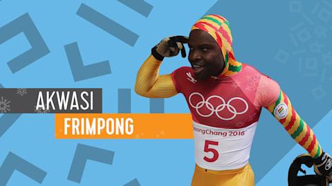 Akwasi Frimpong: Meus Destaques de PyeongChang