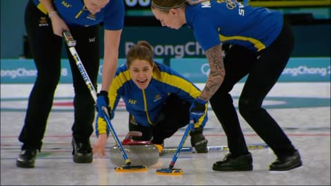 SWE v GBR (Semifinal) - Women's Curling | PyeongChang 2018 Replays