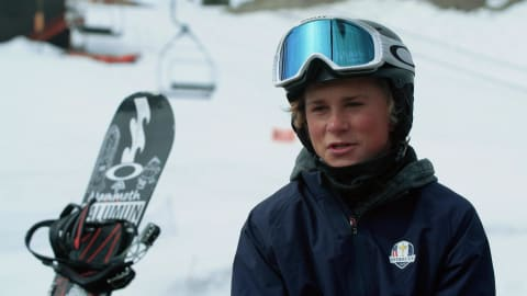 Rencontre avec le prochain Shaun White du snowboard américain