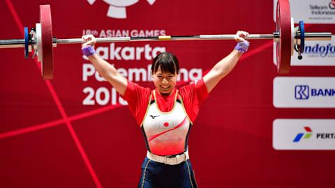 7月6日開幕のウエイトリフティング五輪テストイベントに、八木かなえらメダル候補が出場