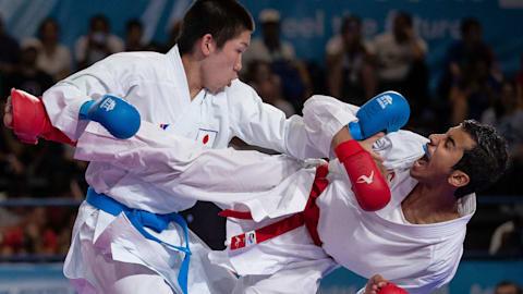 Men's Kumite -61kg Final - Karate | Buenos Aires 2018 YOG