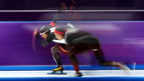 남자 500m - 스피드 스케이팅 | 평창 2018 in 360