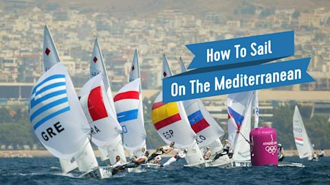 Cómo navegar en el mediterráneo