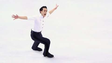 Malaysia's first Olympic figure skater trains in a shopping mall