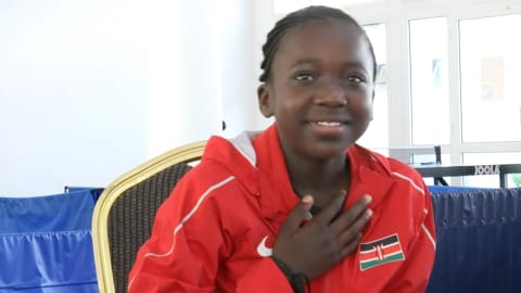 11-year-old Kenyan table tennis prodigy aims for the top
