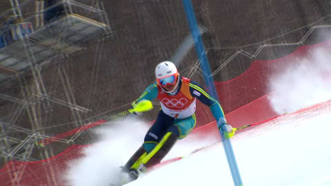 Men's Slalom - Alpine Skiing | PyeongChang 2018 Highlights