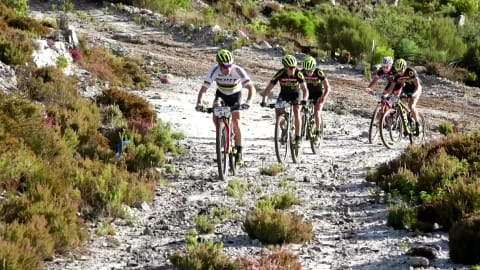Radsport: 2018 Absa Cape Epic - Westkap, Südafrika. Prolog