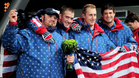 USA win Bobsleigh gold in Canada