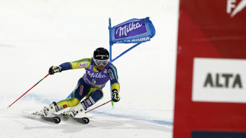 Men's Giant Slalom - Run 1   FIS World Cup - Alta Badia