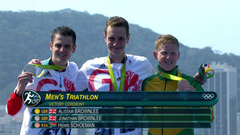 Brownlee brothers dominate Triathlon