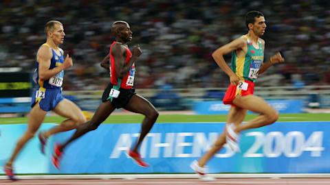 ألعاب القوى - المسافات المتوسطة