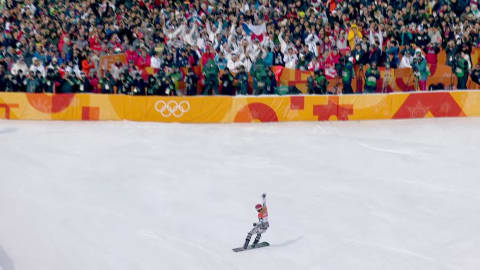 Top 5 des performances féminines à PyeongChang