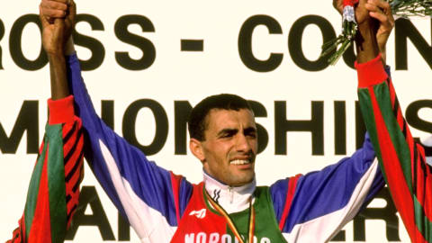 Skah's controversial 10000m victory at Barcelona 1992