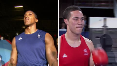 The Olympic roots to the big fight between Anthony Joshua and Joseph Parker