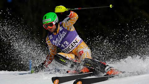男子回转 - 第2滑   FIS 世界杯 - 翁根