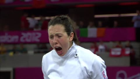 Samantha Murray wins silver in the modern pentathlon at London 2012