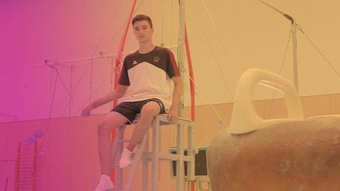 Le jeune Daniel Schwed veut poursuivre les succès allemands en gymnastique