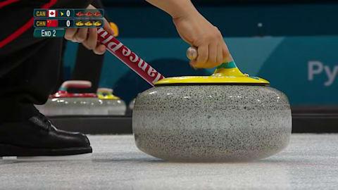 CAN v CHN (Round Robin) - Women's Curling | PyeongChang 2018 Replays