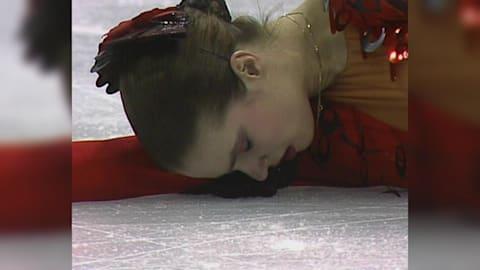 Katarina Witt remporte l'or à Calgary en 1988