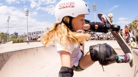 Meet Spain's 10-year-old skate sensation aiming for the Olympics