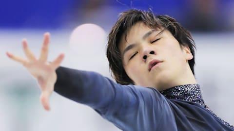 フィギュアスケート・ジャパンOP:男子フリーで宇野昌磨は2位、首位はネイサン・チェン