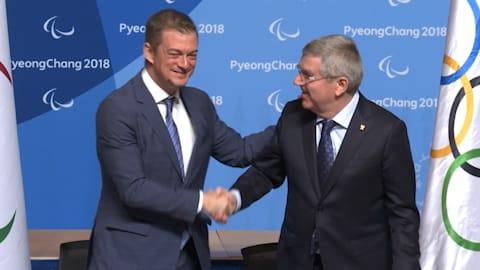 IOC und IPC verlängern Partnerschaft bis 2032
