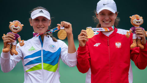 Women's Doubles Gold Medal Match - Tennis | Buenos Aires 2018 YOG