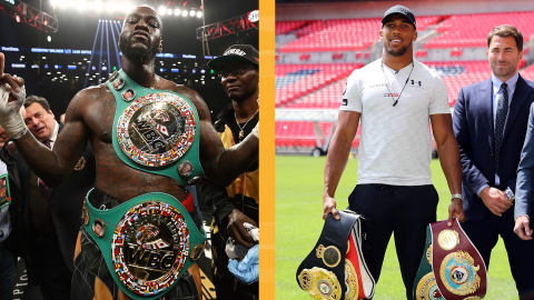 Wilder talks up Joshua fight