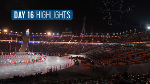 Tag 16 Highlights | Pyeongchang 2018