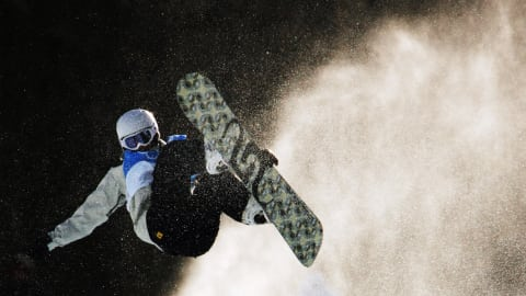 Ultimate Gold: Seeing no fear on a snowboard