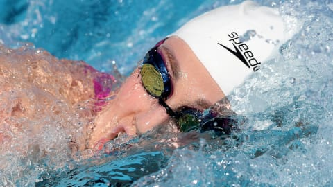 Missy Franklin breaks through the pain barrier
