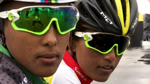 Ethiopian cycling on the rise