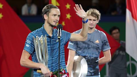 【テニス】メドベージェフ、母国のクレムリン・カップを疲労で欠場…先日は上海大会で戴冠
