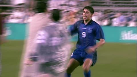 Hernan Crespo scores six goals in six matches | Atlanta 1996