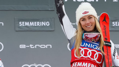 Shiffrin breaks World Cup slalom wins record