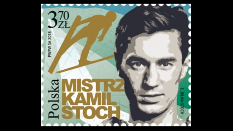 A new stamp for Kamil Stoch!