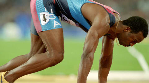 Sydney 2000 - Johnson ganha a final dos 400m