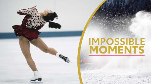 Midori Ito 'conquista' il Triplo Axel | Impossible Moments