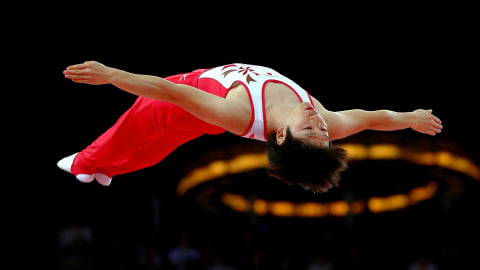 The beauty of Trampoline Gymnastics