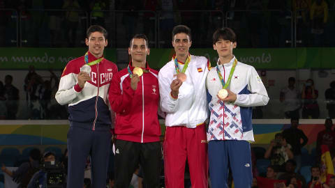 Abughaush wins 68kg Taekwondo gold