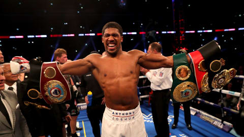 Anthony Joshua knocks out Alexander Povetkin to retain heavyweight titles