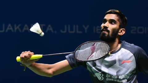 Srikanth falls at French Open first hurdle