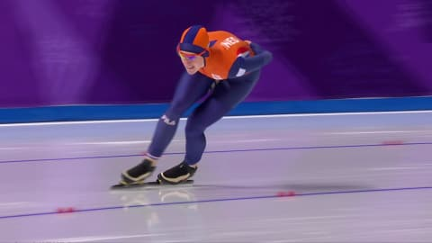 Wust makes history winning Gold in the Women's 1500m | Speed Skating