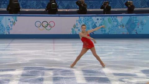 Adelina Sotnikova (RUS)| Women's Figure Skating - Sochi 2014 Replays