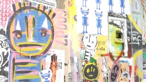Лучшие граффити и стрит-арт Буэнос-Айреса