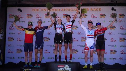 Radsport: 2018 Absa Cape Epic - Westkap, Südafrika. 2. Etappe