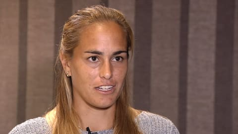 Monica Puig dealing with pressure from Rio gold