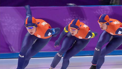 Women's Team Pursuit Qualif. - Speed Skating | PyeongChang 2018 Replays