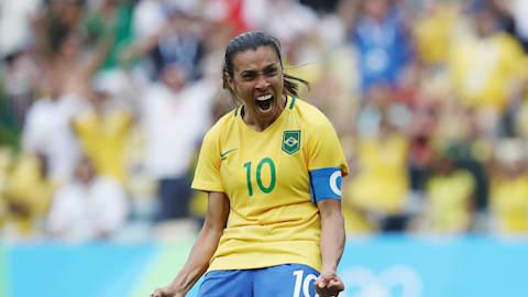 Marta: Tous ses buts olympiques